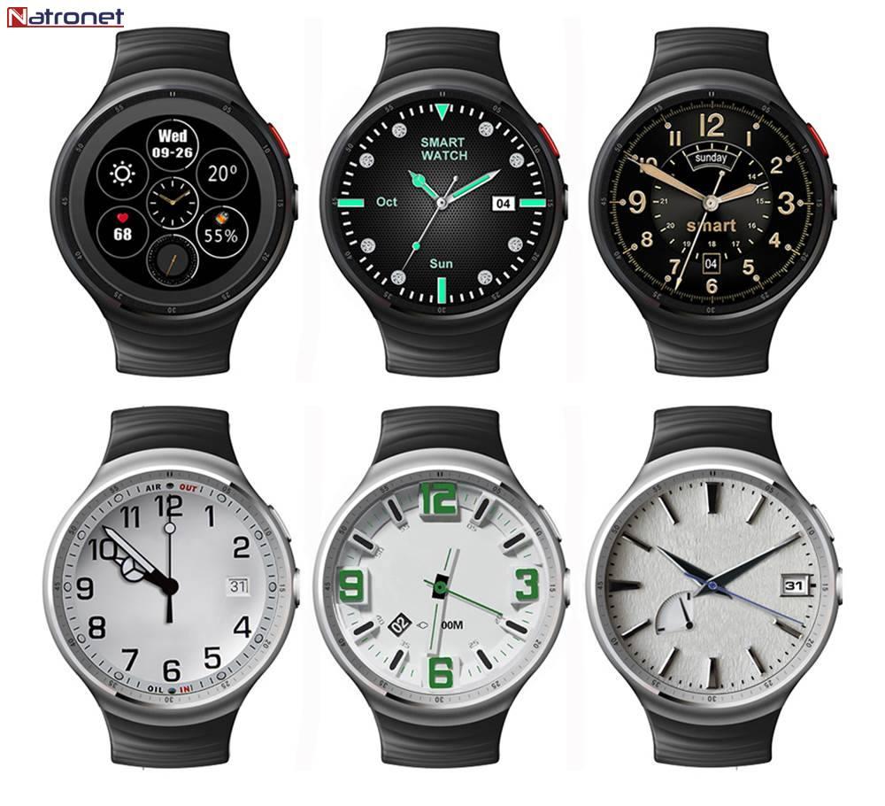 Lemfo Les1 Akıllı Saat +Telefon Android 5.1 -Türkiye