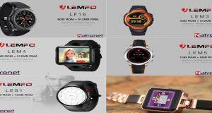 Lemfo Akıllı Saat Ailesinin en çok satanları NatroNet'te: Lemfo Lm5 Türkiye