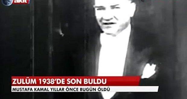 Atatürk'ün ölüm yıldönümü için 'Zulüm 1938'de son buldu' başlığına savunma