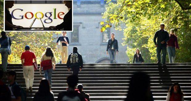 2014 Yılında Google'da en çok aranan ilk 20 üniversite