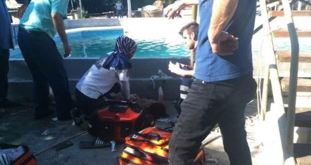 Sakarya'da havuzda yüzenler elektrik akımına kapıldı 3'ü çocuk 5 kişi öldü