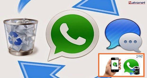 Silinen Whatsapp mesajlarını Android cihazlarda geri getirme işlemi