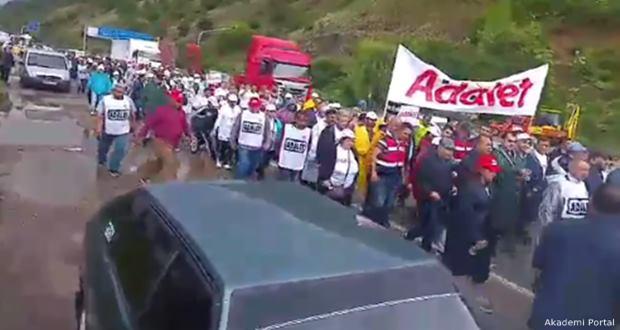 Erdoğan: 'Yürüyüşün yapılıyor olması hükümetimizin inceliği lütfudur'