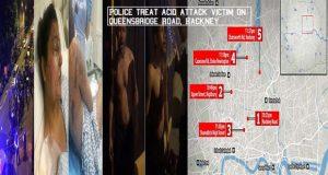 Acid attacks in Hackney: Police Treat Acid Attack Victim On Queensbridge Road, Hackney