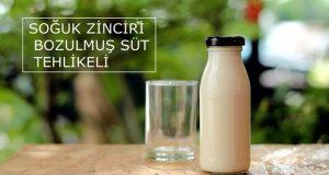 Sütte Soğuk Zincir: Soğuk Zinciri Bozulmuş Süt Tehlikeli