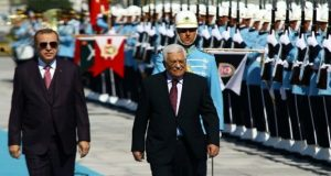 Cumhurbaşkanı Erdoğan Filistin Lideri Mahmud Abbas'la Görüştü