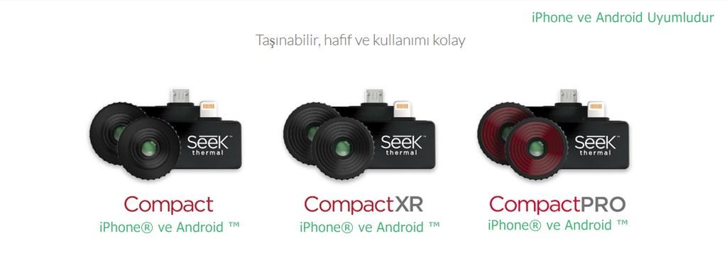 Akıllı Telefonlara Takılan Mobil Termal Kamera Nasıl Çalışır