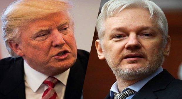 Julian Assange: Trump Çin'le olan Ticareti Keserse Görevden Alınır