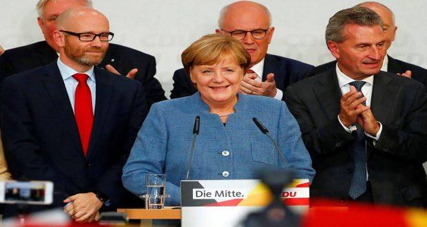 Önemli Gelişmeler -Almanya'da Merkel 4. Kez Genel Seçimi Kazandı