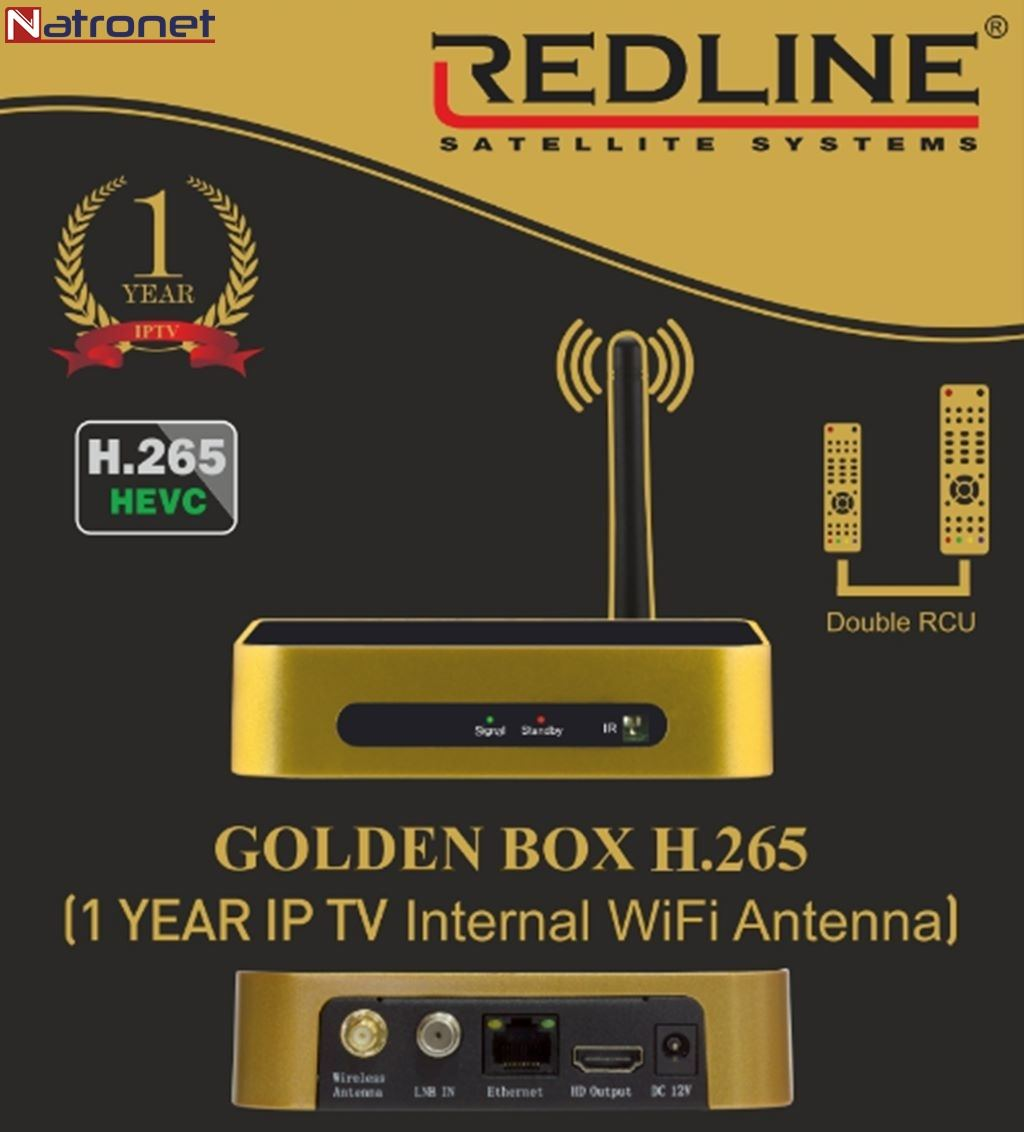 Golden box Hevc Hd İp Tv