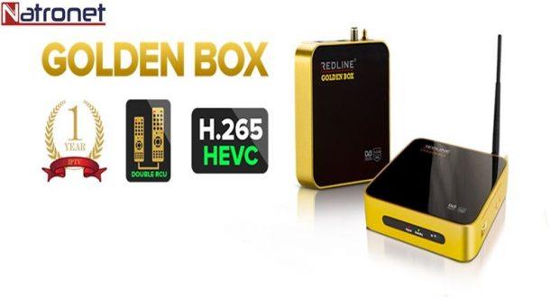 Golden box Hevc Hd İp Tv