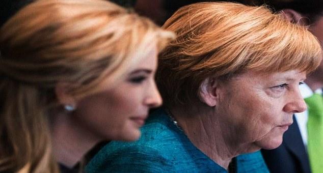 Angela Merkel'in sakin gücü