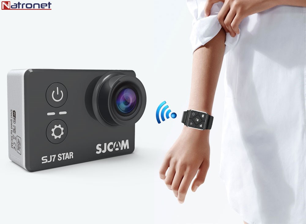"SJCAM SJ7 Star 4 K 30fps Wifi 2 "" Aksiyon Kamera"