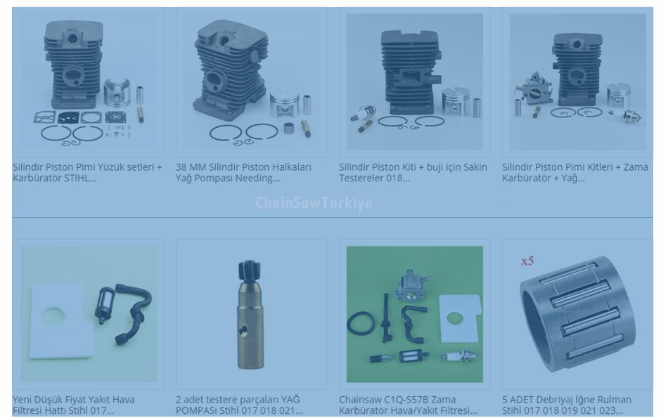 STiHL Zincirli Testere Yedek Parçaları: Stihl MS170 MS180
