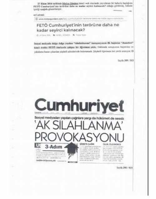 Gazeteci Ahmet Şık'ın savunmasının tam metni