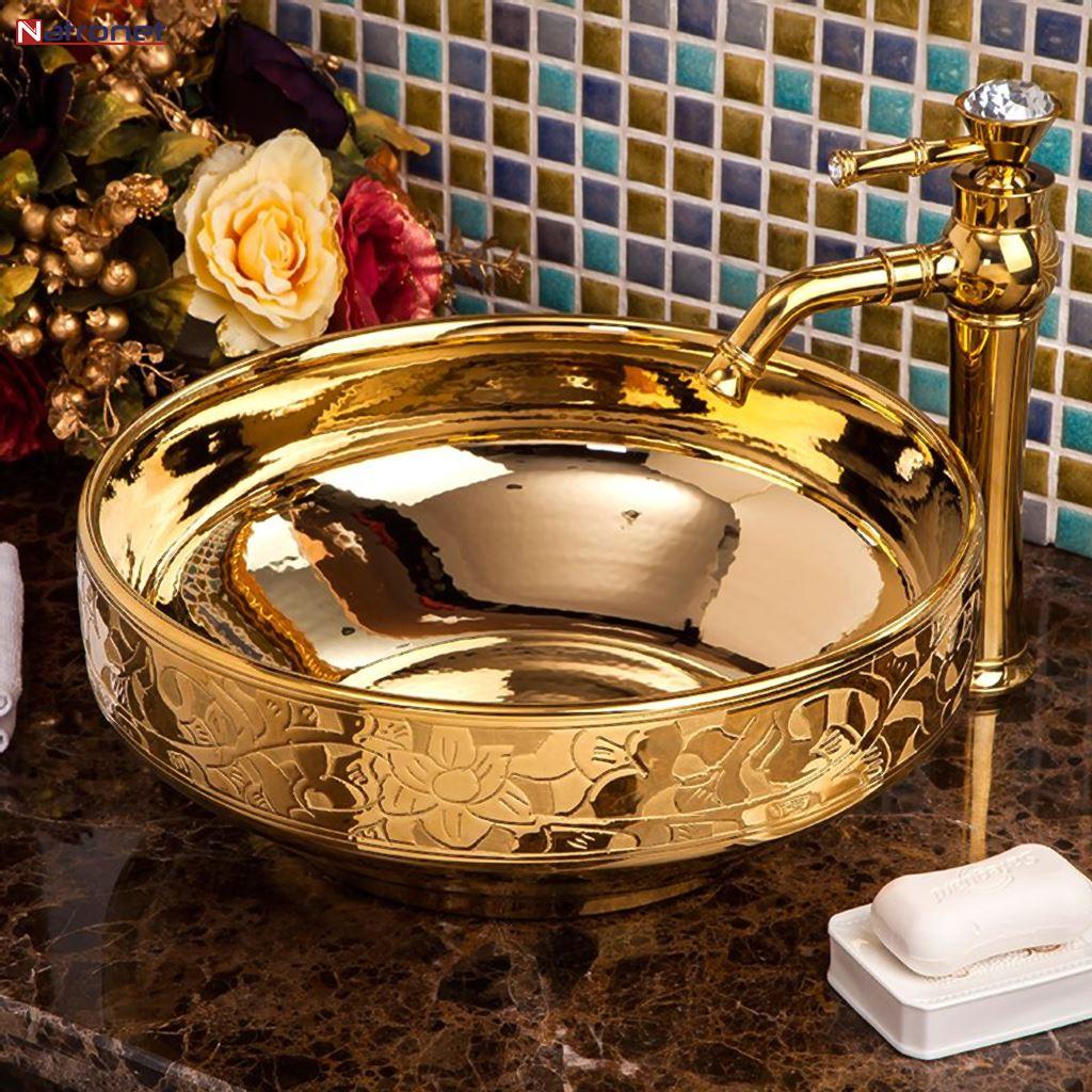 Süper lüks lavabo çanakları - lavabo muslukları
