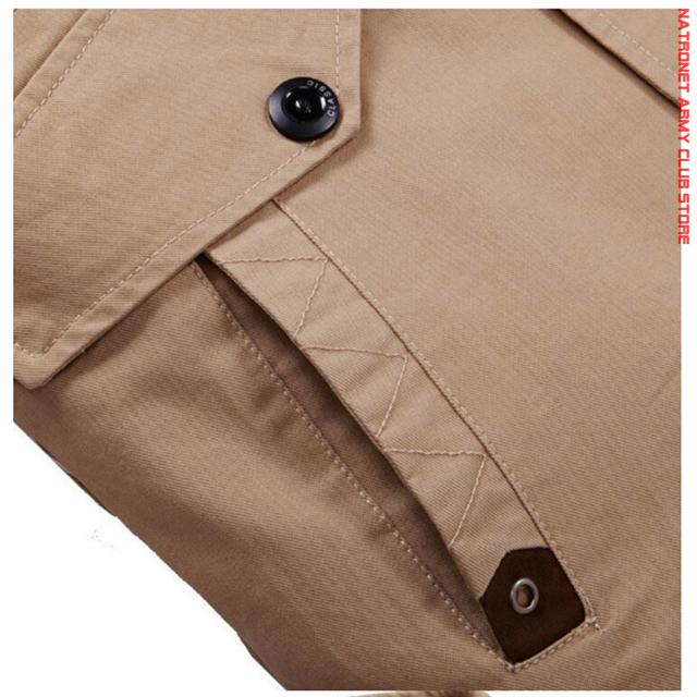 Erkek Slim Fit Askeri Ceket Palto & Kabanlar - Army Club Store