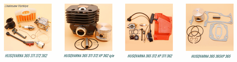 HUSQVARNA Testere 365 362 372 371 İçin Revizyon Setleri