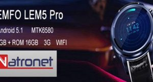 Lemfo Lem5 Pro Akıllı Saat Türkiye