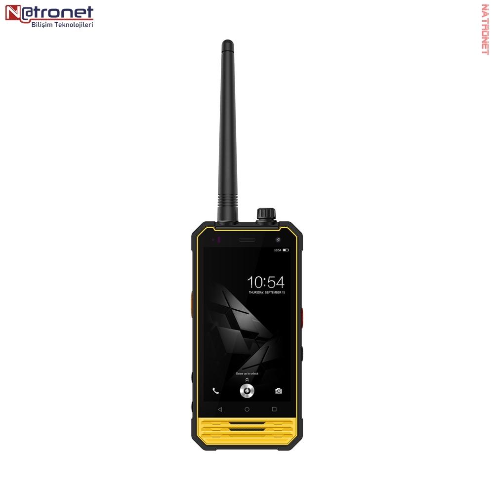 Akıllı Telsizler: AT 18 İP 68 Su Geçirmez Telsiz + 4G Akıllı Telefon
