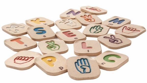 Türk İşaret Dili Parmak Alfabesi İle Gösterilişi
