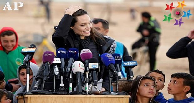 Angelina Jolie calls on world powers to end Syrian war