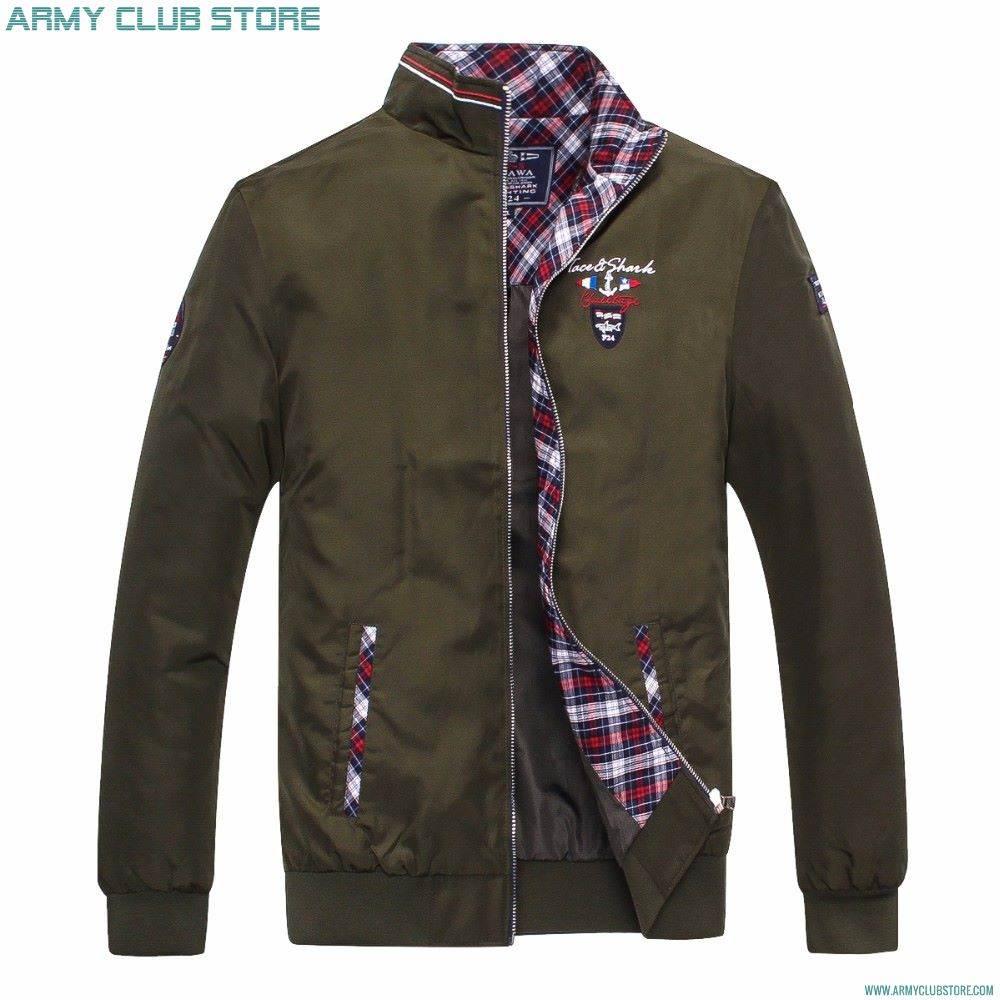 Avrupa Tarz Askeri Stil Montlar -Kabanlar Klas Erkek Modası