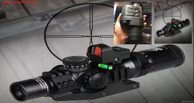 Keskin nişancı dürbünler optik hedef sabitleyiciler