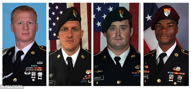 EXCLUSIVE: Message delivered ISIS video soldiers killed Niger