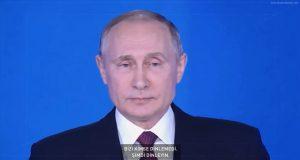 Vladimir Putin: 'Bizi Kimse Dinlemedi Şimdi Dinleyin'
