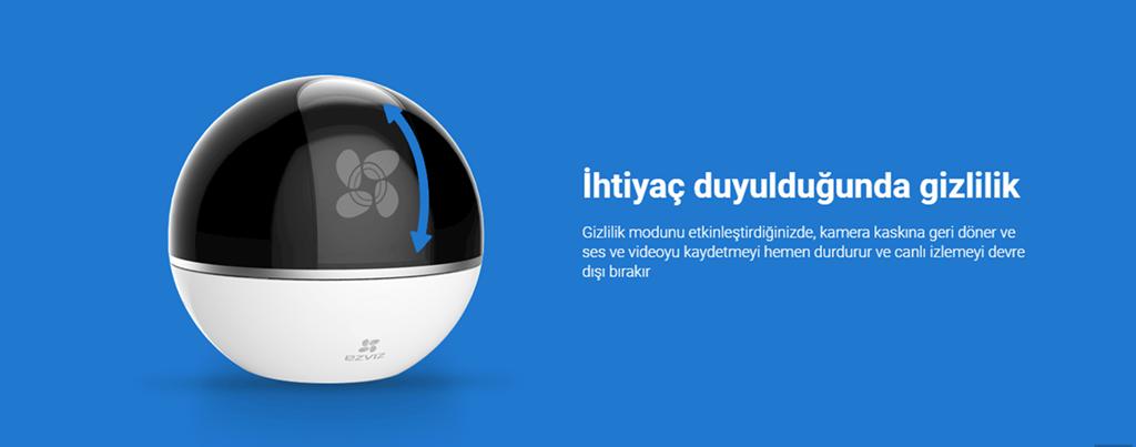 EZVIZ C6T Mini 360 Plus 1080p HD Pan/Tilt/Zoom Kamera