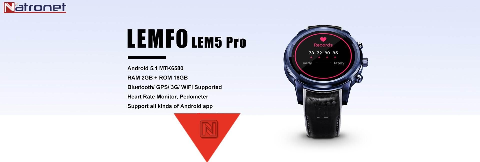 Lemfo Lem7 Akıllı Saat Türkiye