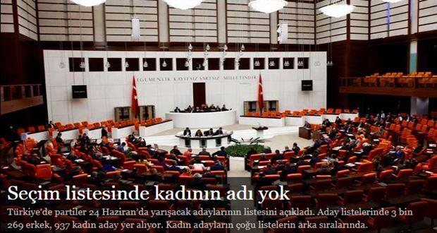 Türkiye'de partiler 24 Haziran'da yarışacak adaylarının listesini açıkladı