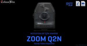 Zoom Q2n Handy Ses ve Video Kayıt Cihazı