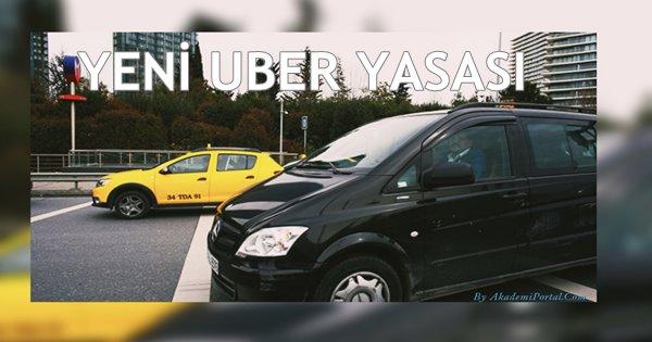Ceza Getiren Düzenlemeyle İlgili Uber'den Türkiye Açıklaması
