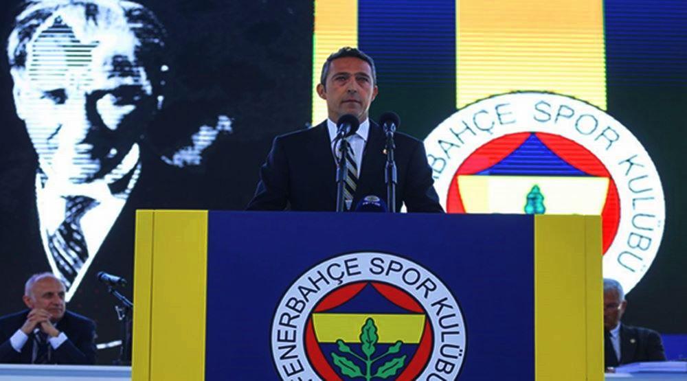 Ali Koç Fenerbahçenin 37 Başkanı Oldu Spor Fenerbahçe Akademi