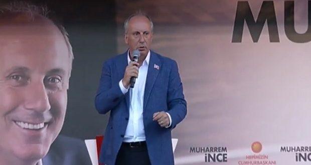 İnce'den Erdoğan'a: Erdoğan Seçime Değil Doktora Gitmeli