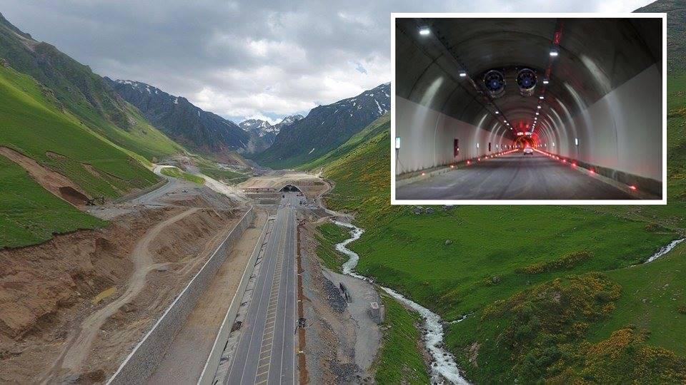 Dünyanın 2'nci En Uzun Tüneli Ovit Türkiye'de Açılıyor