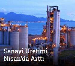 Sanayi üretimi aylık bazda yüzde 0.9, yıllık bazda yüzde 6.2 arttı