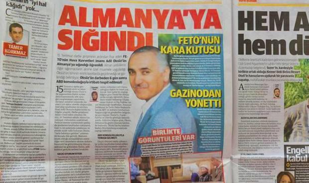 Alman Hükümeti Fethullah Gülen'le İlgili Sorulara Cevap Veremiyor