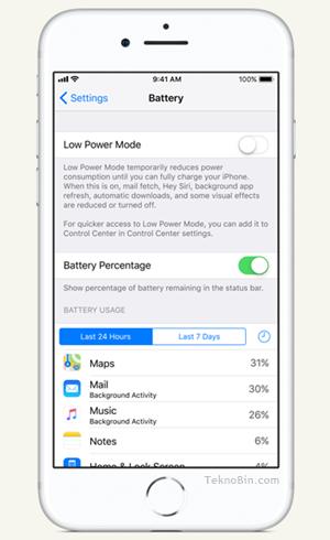 iPhone'da Pil Ömrünü ve Kullanım Süresini En Üst Düzeye Çıkarma