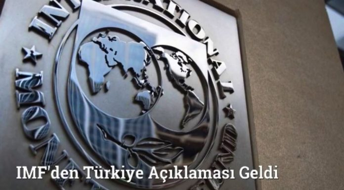 Uluslararası Para Fonu IMF'den Türkiye Açıklaması Geldi