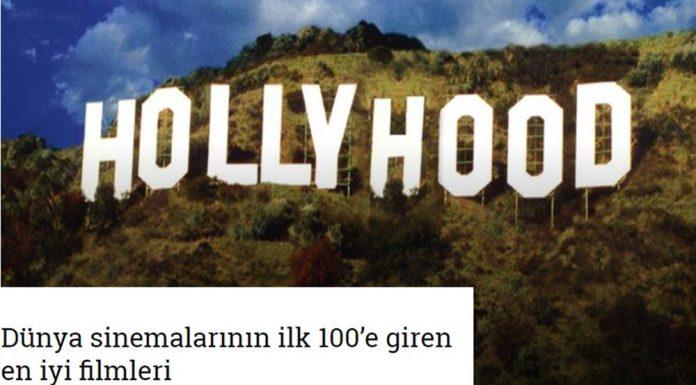 Dünya sinemalarının ilk 100'e giren en iyi filmleri