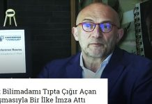 Türk Bilimadamı Tıpta Çığır Açan Çalışmasıyla Bir İlke İmza Attı