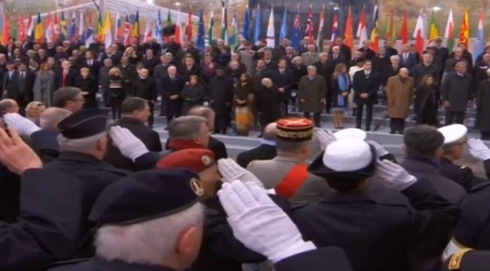 Liderler Paris'te 'Barış İçin' Buluştu