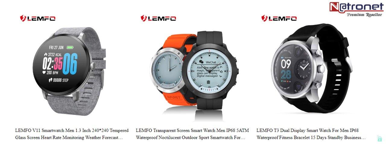 Lemfo Akıllı Saatler Türkiye, NatroNet