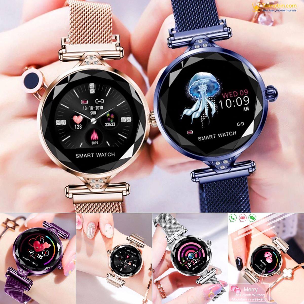 Lemfo W1 Kadın Moda Spor Akıllı Saat