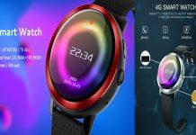 Lemfo Lem8 Pro Kadın Moda Sim Kartlı Akıllı Saat
