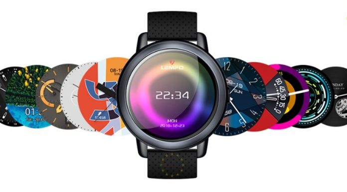 LEMFO LEM8 Sim Kartlı Akıllı Saat Android 7.1 LTE 4G WiFi