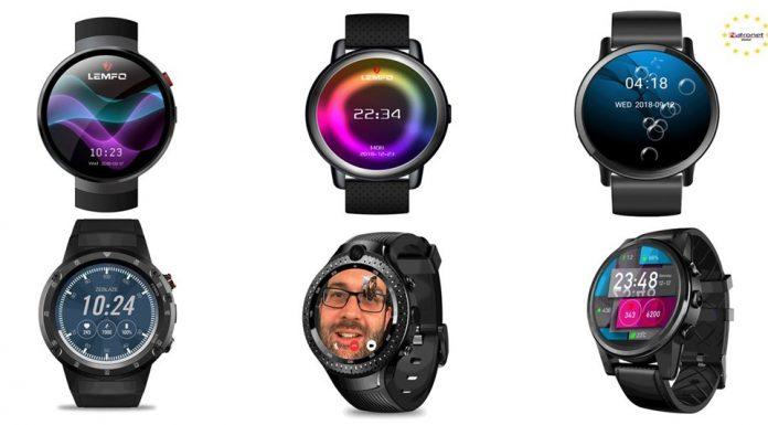 Akıllı Saatler: Lemfo Marka Sim Kartlı Akıllı Saatler NatroNet